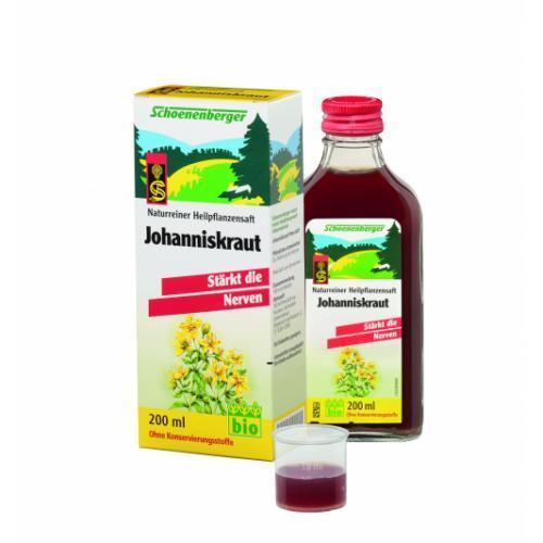 JOHANNISKRAUT SAFT Schoenenberger 200 ml