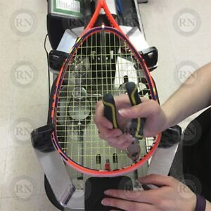 Racket Stringing service for Squash, Badminton and Tennis