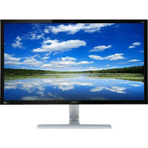 "Acer 28"" LED 4K UHD FreeSync Monitor Black RT280KBMJDPX"