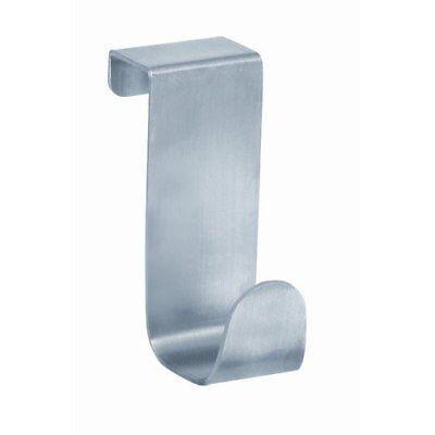 NEW InterDesign Over the Cabinet Door Hook Stainless Steel Forma Cabinet Hook