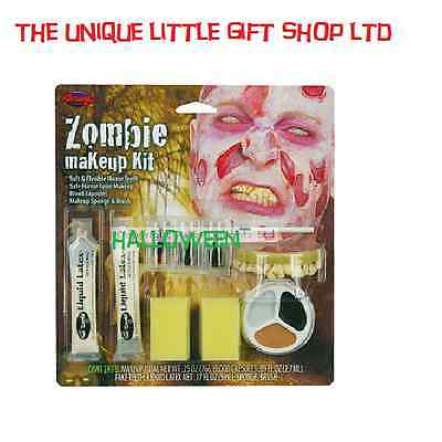 Halloween - Special Effects Makeup - Zombie Man horror - Halloween Man Makeup