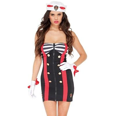 SEXY SAILOR CHICK COSTUME BY FORPLAY DISCOUNTED GREAT - Discount Halloween Costumes For Women