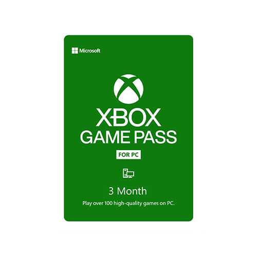 Xbox Game Pass For PC 3 Month Membership - Instant Digital Delivery