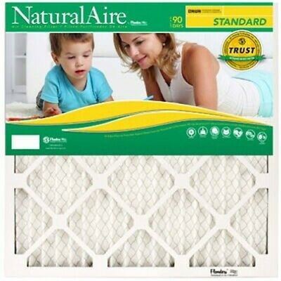Natural Aire 14 in. W x 25 in. L x 1 in. H Polyester Synthet
