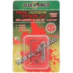 NEW Dead Ringer Freak Extreme 2 Blade Broadhead 100 Grain 3 Pack DR4883