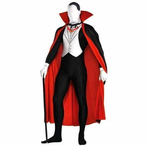 Amscan Vampire Party suit Adult Size Medium Costume - New Halloween USA