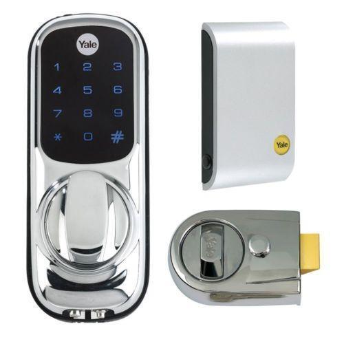 keyless door lock ebay. Black Bedroom Furniture Sets. Home Design Ideas