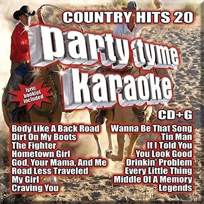 Various Artists   Party Tyme Karaoke  Country Hits 20  New Cd