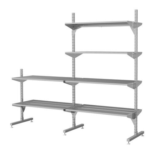 ikea broder heavy duty storage shelving in blackford edinburgh gumtree. Black Bedroom Furniture Sets. Home Design Ideas