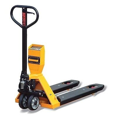 Pallet Scale Jack Truck 5000 Lbs Capacity - Ntep Approved - Electric Display