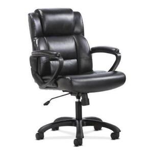 Leather Executive Computer/Office Chair with Arms - Ergonomic - BRAND NEW - FREE SHIPPING