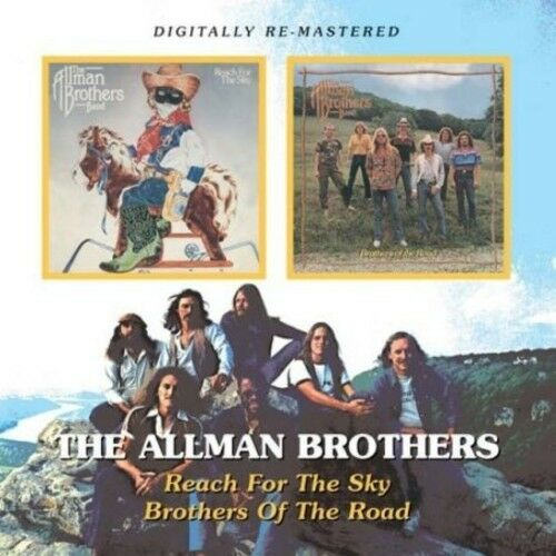 The Allman Brothers - Reach for the Sky / Brothers of the Road [New CD] UK -
