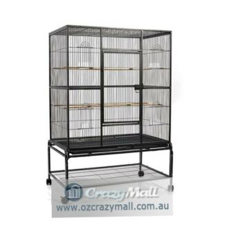 Wrought Iron Large Aviary Bird Cage 140cm Height