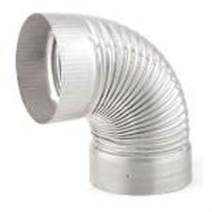 Heatfab saf t liner 6 90 degree flex elbow 304 stainless steel for Liner piscine 3 60 x 0 90