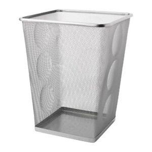 IKEA DOKUMENT Papierkorb METALL Abfallkorb Papiereimer Bürokorb Mülleimer NEU