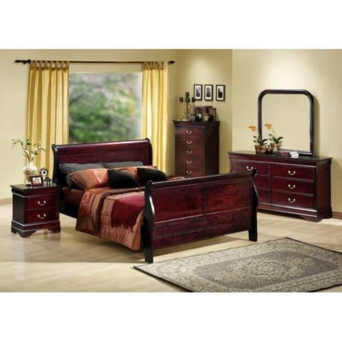 Black Sleigh Bedroom Sets Ebay