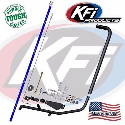 KFI ATV Snow Plow Blade Manual Lift Kit - Winch Alternative for KFI Push Tube!!