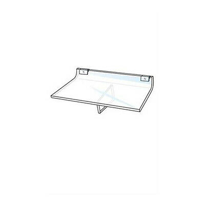 Slatwall Acrylic Shelves 10 W X 8 D Inches - Box Of 10