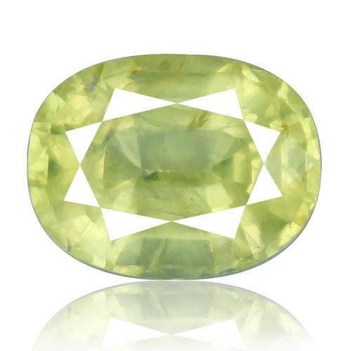 Tsavorite Family Garnet 8.63ct yellowish green color 100% natural earth mined