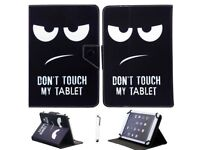 BRAND NEW SEALED - BLACK SAMSUNG 'S' TABLET 10.1 CASE - DON'T TOUCH MY TABLET