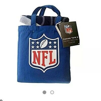 Atlanta Falcons Canvas Tote Bag and Micro Raschel Throw Blanket, NWT
