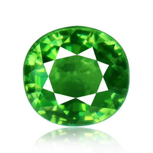 Demantoid Garnet 1.05ct extremely rare aaa green 100%natural earth mined Namibia