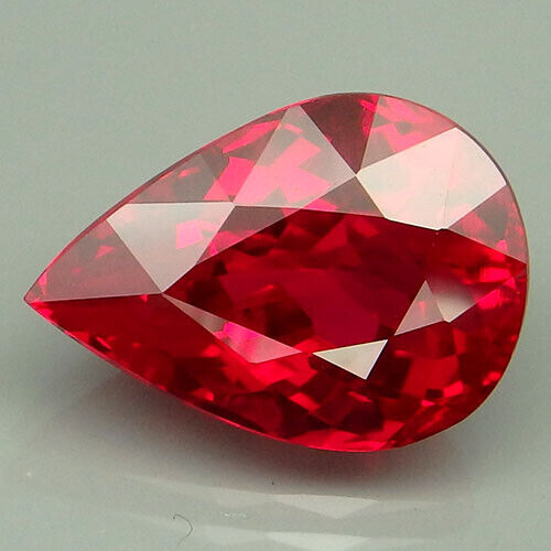 12.15CT. PLEASING!!! RED TOPAZ PEAR