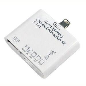 Lector-de-tarjetas-OTG-5-en-1-USB-TF-SD-para-iPad-Retina-Mini-Air-2-iPhone-5-6-7