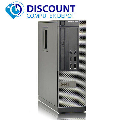 Fast Dell Optiplex 7010 SFF Desktop Computer i7-3770 8GB 1TB Windows 10 Pro WiFi