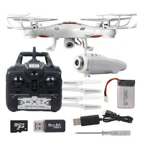 X5C Flying Aircraft With Camera 2.4G RC Helicopter Drone HD
