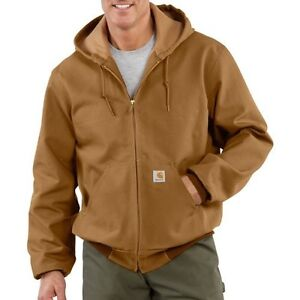 Carhartt J131 Carhartt Duck Active Jac - Thermal Lined Jacket ALL SIZE