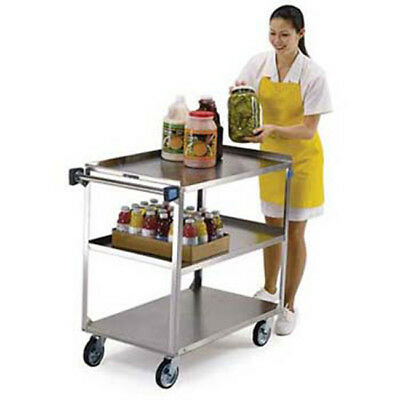 Lakeside 422 - Stainless Steel Utility Cart 500 Lb. Capacity 3 Shelves