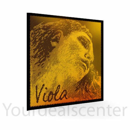 "Evah Pirazzi Gold Viola String Set 4/4 up to 16.5"" Medium Arrived 2021-02"