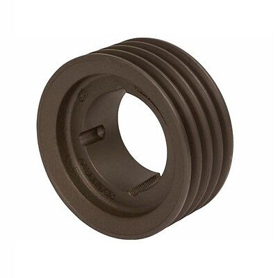 Spz132x4 V Vee Belt Pulley - 4 Groove - Taper Lock 2012 - 132mm Pcd - 136mm Od