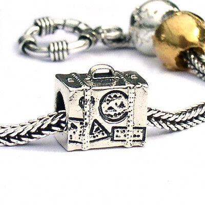 Landmark Travel Charm European Beads In Sterling Silver Ebay