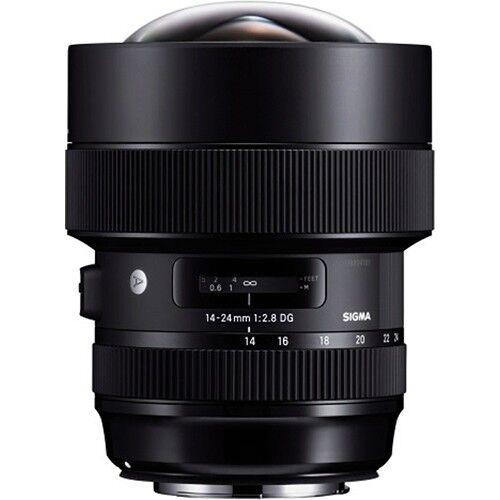 Sigma 14-24mm F2.8 Dg Hsm, Black (212954) For Canon