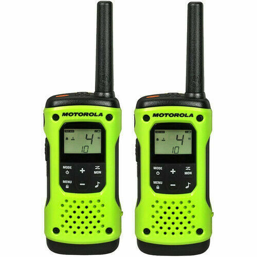Motorola T600 H20 Rechargeable Two-Way Radio - Green (2 pack)