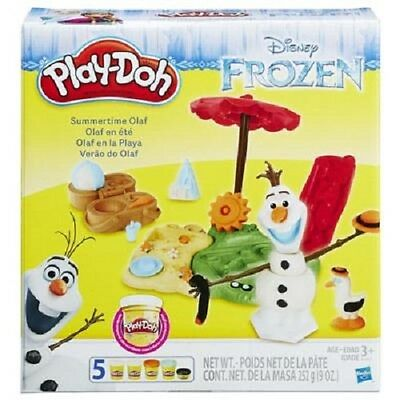 NEW HASBRO PLAY-DOH DISNEY FROZEN SUMMERTIME OLAF B3401 PLAYDOH