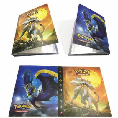 240 Cards Pokemon Cards Album Binder Folder Book List Collection Holder Pro