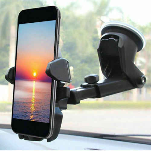 Universal Car 360° Windshield Mount Holder for Cell Phone GPS iPhone Samsung LG Cell Phone Accessories