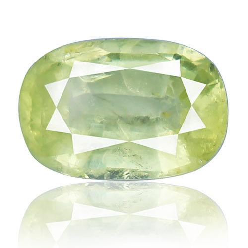 Tsavorite Family Garnet 8.04ct yellowish green color 100% natural earth mined