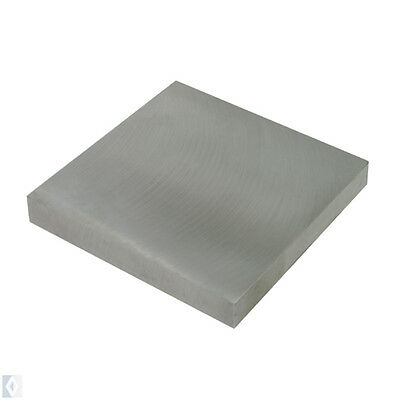 "Steel Bench Block 4"" Square Jewelry Making Bench block Anvil  4""X 4""X 3/4 """