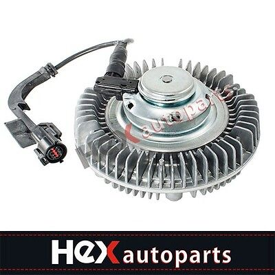 Electric Radiator Cooling Fan Clutch For Ford Super Duty F250 6.0L V8 Diesel New