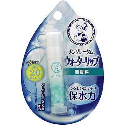 Rohto Japan MENTHOLATUM Water Lip Lip Stick Balm SPF20 PA++ 4.5g - Unscented