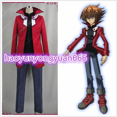 Yu-Gi-Oh! GX Jaden Yuki Cosplay Costume Custom Hot