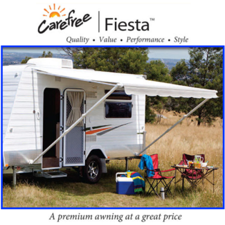 Carefree Fiesta Roll-out Awning For Caravan Motorhome Pop-top Bus