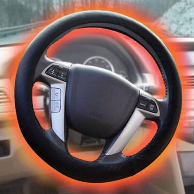 Best Heated Steering Wheel Cover Adjustable Temperature 12V DC Hand Warmer