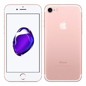 Apple iPhone 7 Rose Gold Brand New 128GB With Apple Warranty - Buy in Confidence!!!