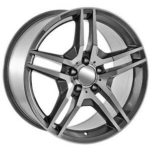 AMG replica rims, with tires and balanced. Just stick em on St. John's Newfoundland image 1