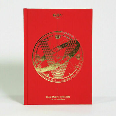 WayV - Take Over The Moon (2nd Mini) CD+124p Photobook + tracking number